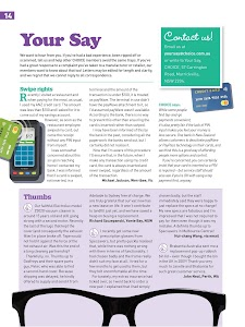 CHOICE Magazine Tablet Edition screenshot 7
