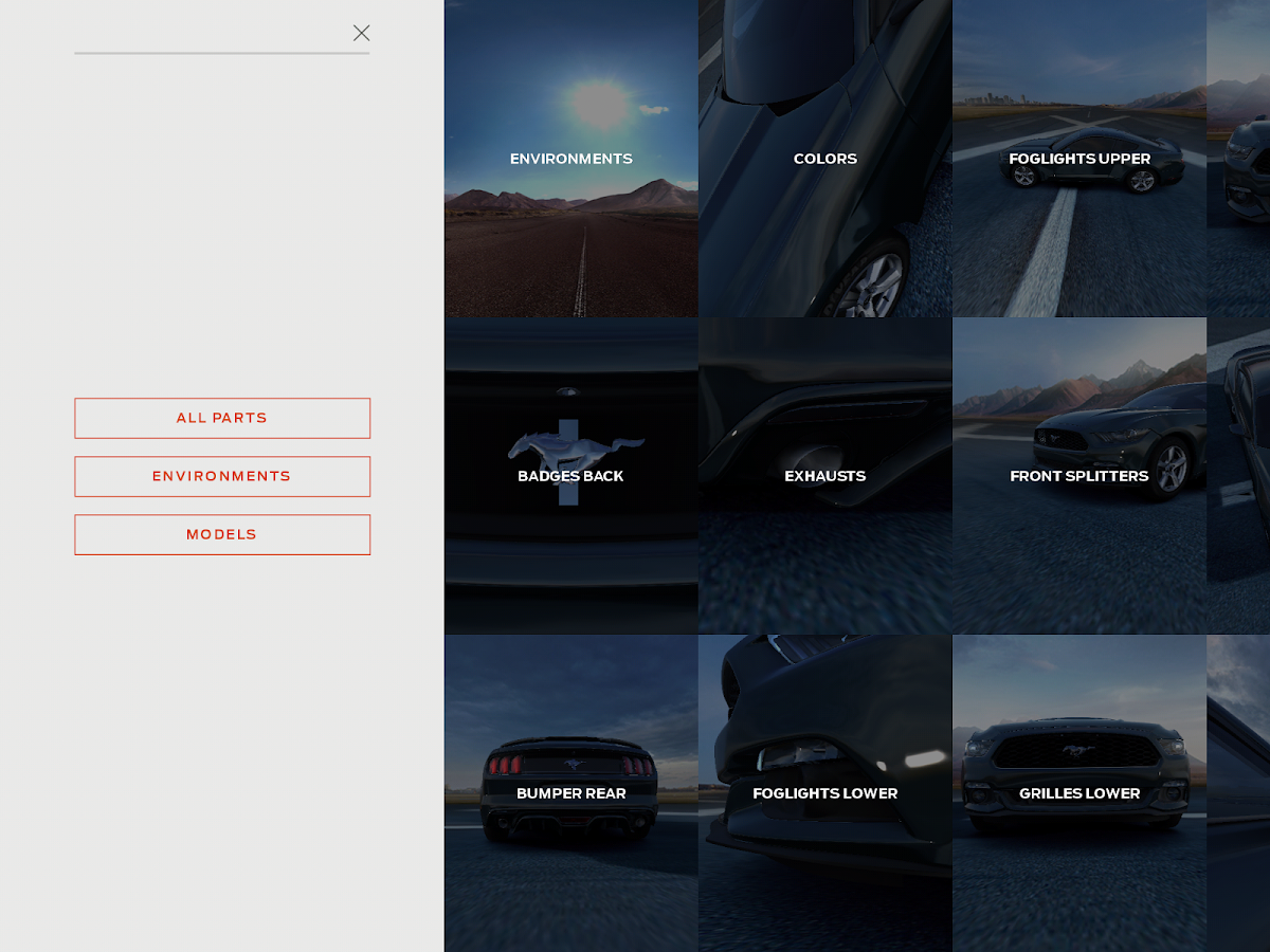 2014 Mustang Customizer - screenshot