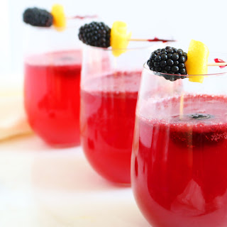Blackberry-Ginger Fizz Recipe