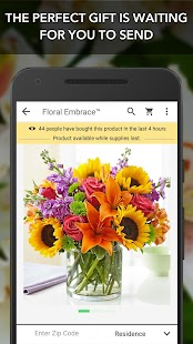 1-800-Flowers.com: Send Gifts Screenshot 1