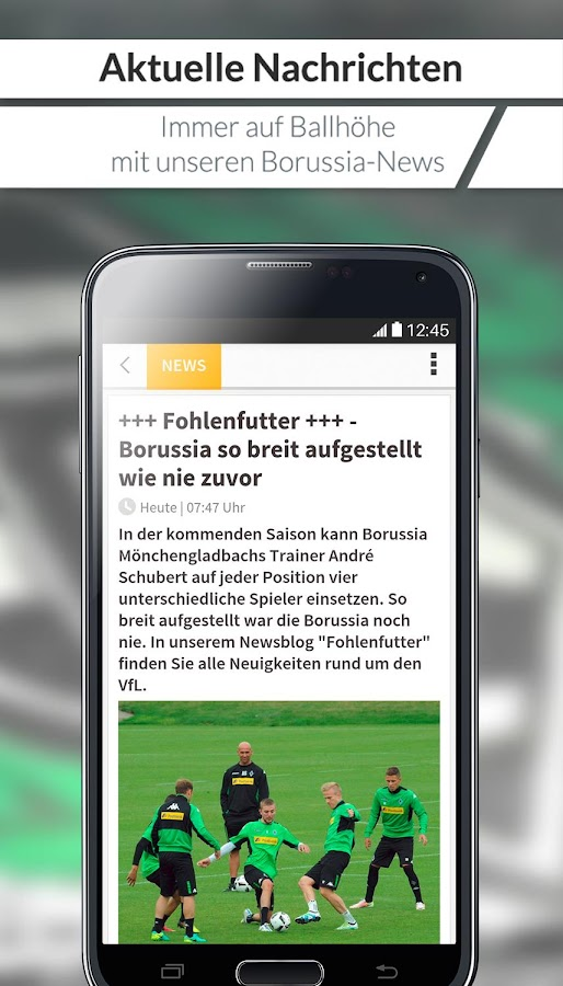 RP - Borussia für Fans News- screenshot