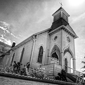 St Anne  by Todd Reynolds - Black & White Buildings & Architecture