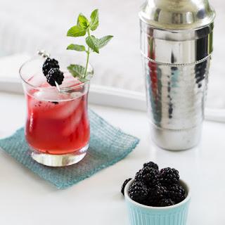 Blackberry Mint Ginger Fizz #TipsyTuesday.