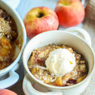 Peach Apple Crisp