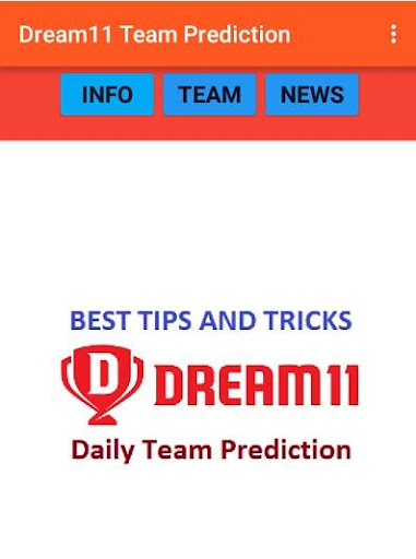 Dream 11, Hala Play & Playerzpot Team Predictions 9.0 screenshots 1