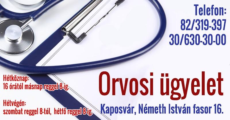Orvosi ügyelet Kaposvár 2017