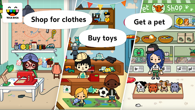 Toca Life: City Android 3