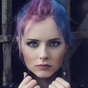by Miloš Mirković - People Fashion ( makeup, art, girl, portrait, posing, hairstyle )