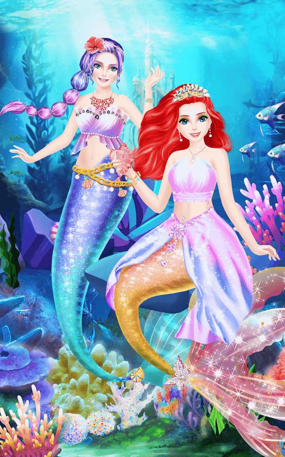 Mermaid-Princess-Beauty-Salon 25