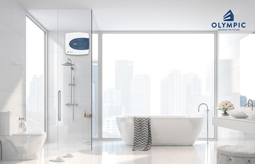 Lắp gương cho phòng tắm 2m2