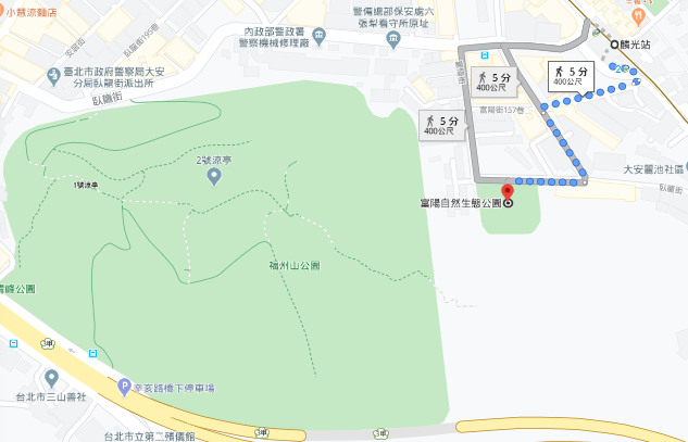 富陽自然生態公園路線