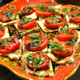 Caprese Salad [Vegan, Gluten-Free]