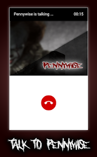 Fake call from the scary pennywise clown - náhled