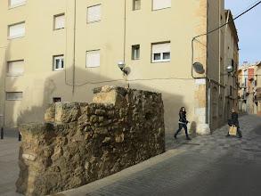 Photo: restes del Portal de Riudoms