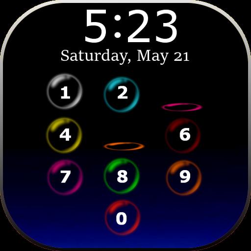Bubble Lock Screen