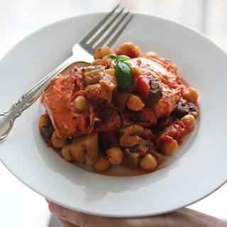 Tomato, Eggplant, & Chickpea Ragout