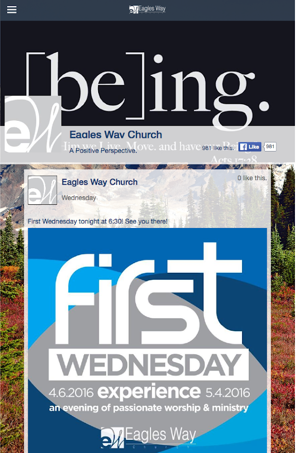 Eagles Way Church- screenshot
