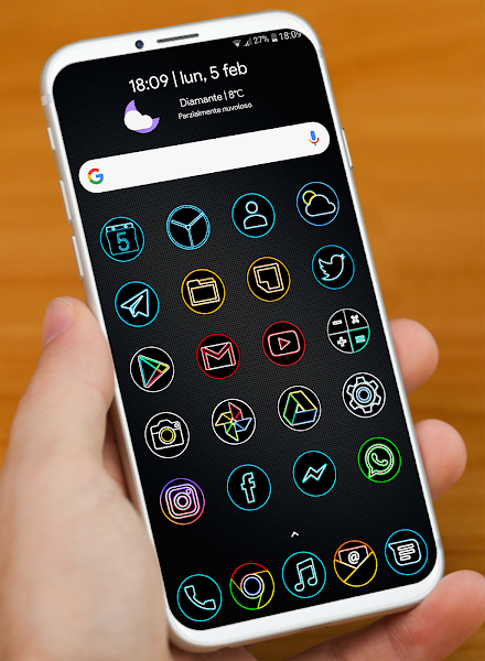 DARK PIXEL – HD ICON PACK v2.0 [Patched]