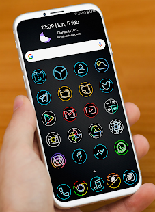 Download DARK PIXEL - ICON PACK APK 6 5 by Cris87 - Free