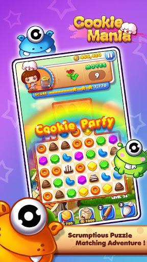 Cookie Mania - Match-3 Sweet Game 2.5.8 screenshots 1