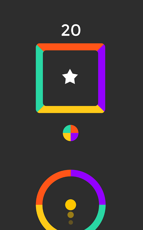 Color Circle jump Free- screenshot