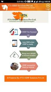 FTA HSRP - KYC Update - náhled