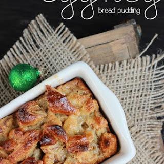 Eggnog Bread Pudding Recipes.