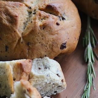 Rosemary and Kalamata Olive Artesian Bread