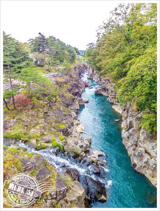 日本岩手縣嚴美溪
