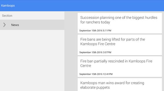 Kamloops News - náhled
