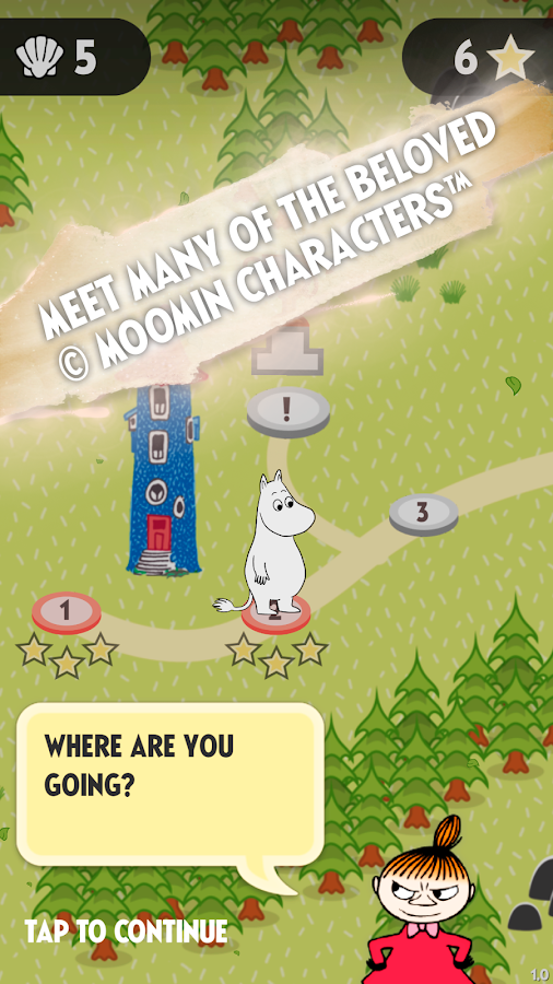 Moomin Quest- screenshot