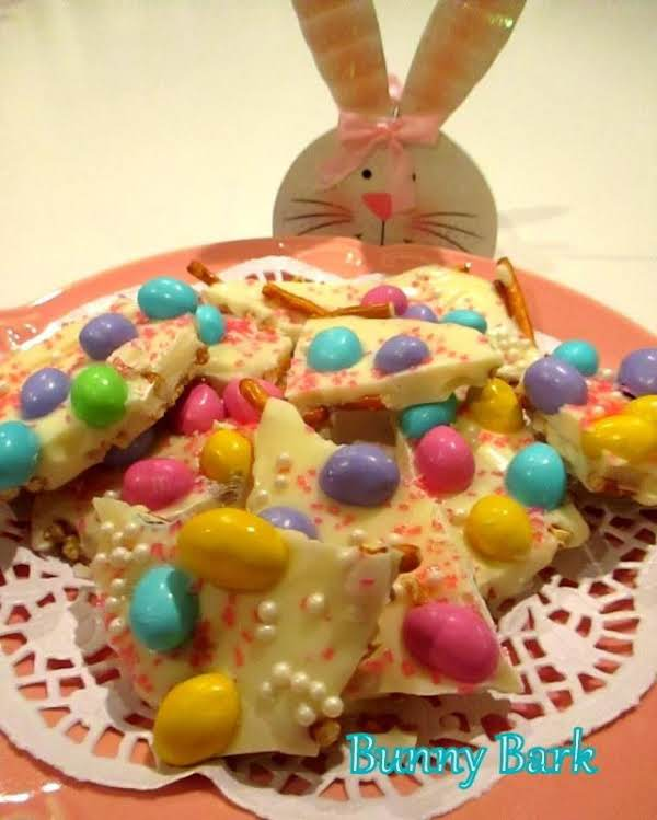 ~ Easter - Bunny Bark ~ Easy Recipe