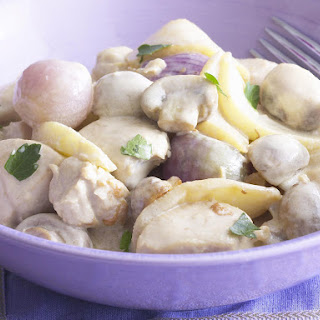 Chicken and Apple Fricassee
