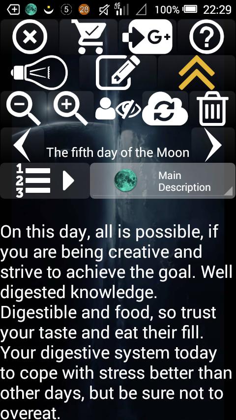 Lunar Calendar Screenshot 2