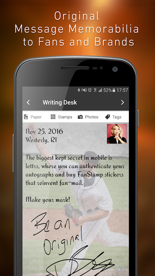 lettrs, The Autograph Reborn- screenshot