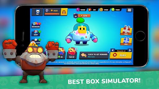 Lemon Box Simulator for Brawl stars 3.6.6 screenshots 1