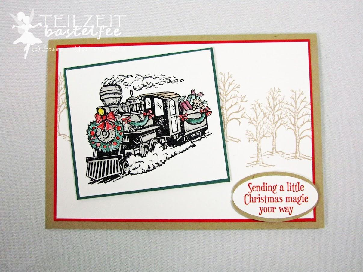 Stampin' Up! - Inkspire_me, Christmas Special, Weihnachten, Christmas Magic, Santa's Workshop, Weihnachtswerkstatt