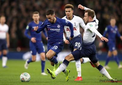 L'entraîneur de Tottenham Mauricio Pochettino a rendu hommage à Eden Hazard