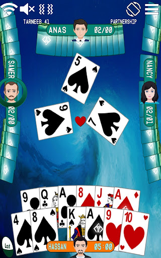 Golden Card Games (Tarneeb - Trix - Solitaire) 20.0.9.24 Screenshots 6