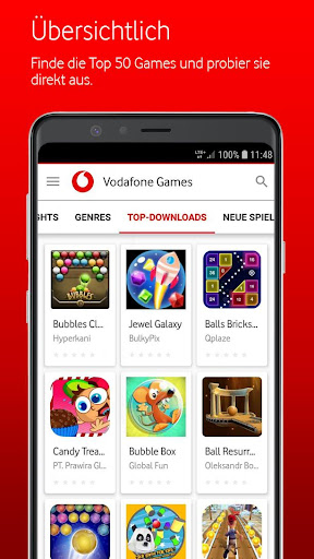 Vodafone Games 1.9.0 screenshots 5