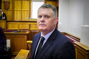 Jason Rohde in the Cape Town high court during his murder trial.