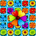 Flower Blossom Jam - A Match 3 Puzzle Game icon