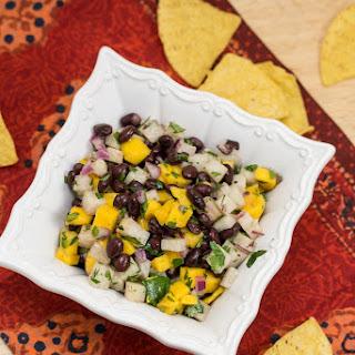Mango, Jicama + Black Bean Salsa Recipe