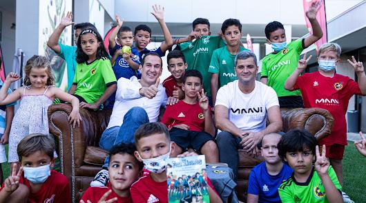 Almería, presente en la nueva entrega de la saga infantil 'Los Futbolísimos'