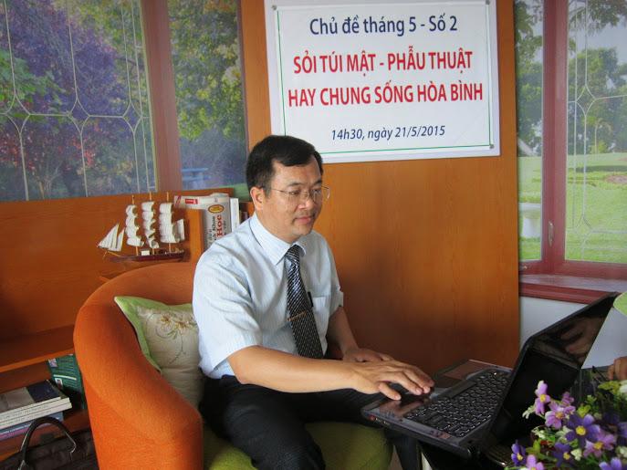 ThS. Bs Dương Xuân Dương trả lời câu hỏi bệnh nhân