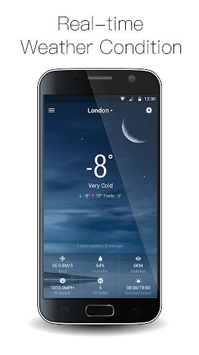 Analog Clock on Lockscreen app (apk) free download for Android/PC/Windows screenshot