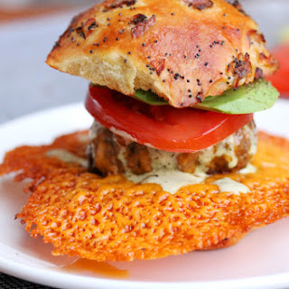 Crispy Cheese Burger Sliders