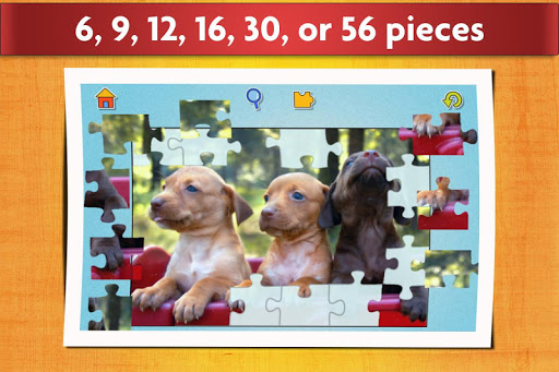 Dogs Jigsaw Puzzles Game - For Kids & Adults ud83dudc36 16.1 screenshots 3