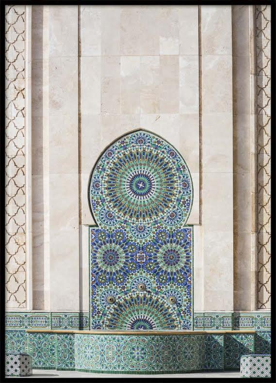 Casablanca Fountain, Poster