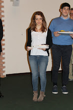 """Photo: Piccolo Agone Placidiano 2015: Vincitori per il Liceo Classico """"25 aprile"""" di Portogruaro: Francesco Carlo Pio Rocco (1° anno), Alessandra Moro (4° anno)"""